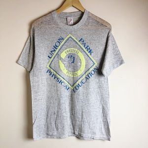 Vintage Single Stitch Union Park Phys. Ed Tee